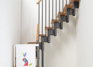 Idealne schody na małą przestrzeń