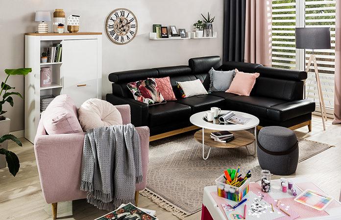 Sofa czy narożnik? Wybieramy rodzinny mebel