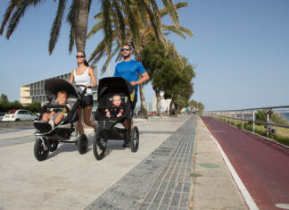 Wózek biegowy - by rodzina żyła aktywnie
