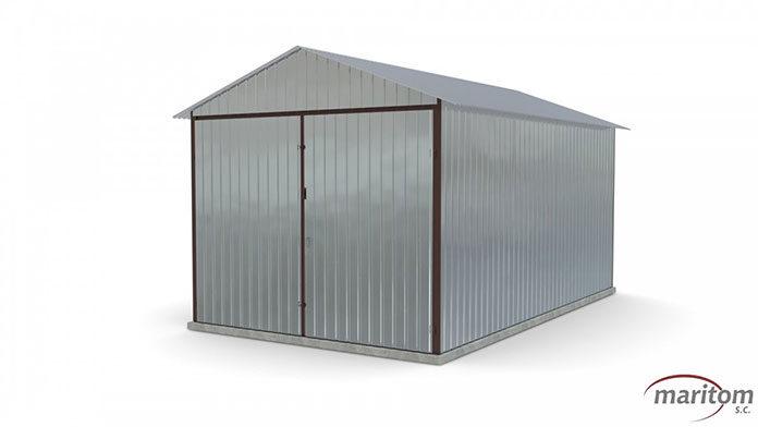 Garaże blaszane - zastosowanie