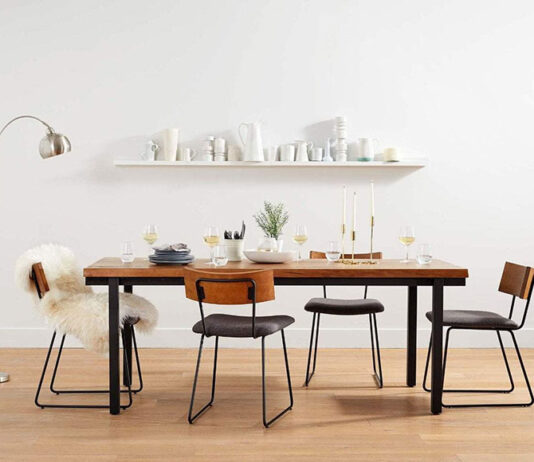 Niezwykłe stoły do jadalni z litego drewna